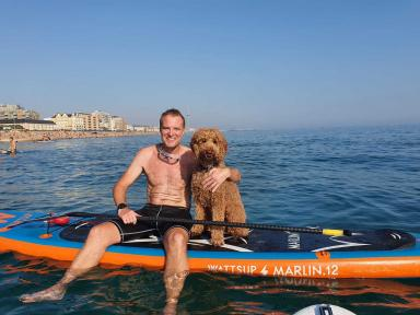 Mal & Archie Out for a paddle