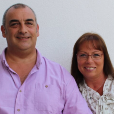 New Boarder Hazel & Carl Hancox